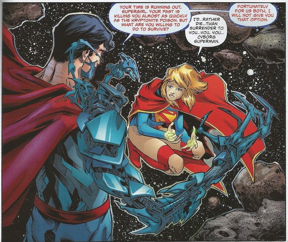 Cyborg Superman... Cyborg Superman New 52