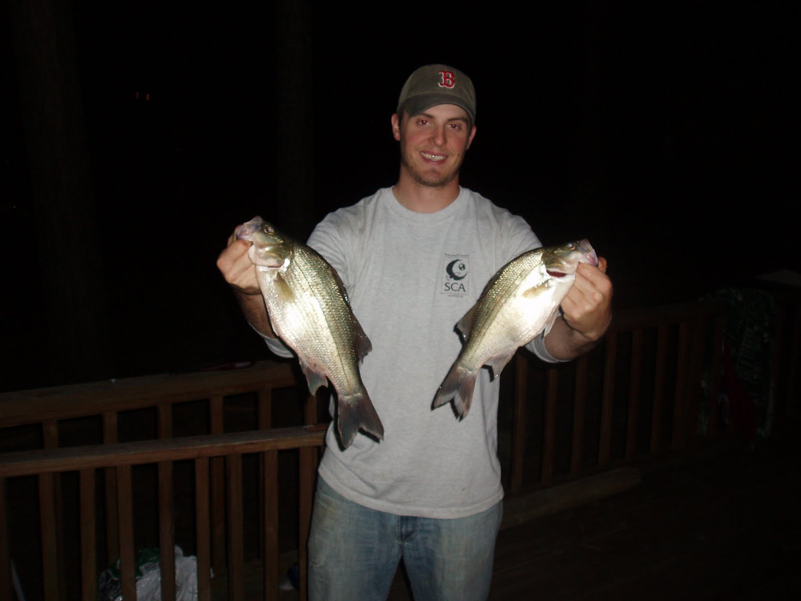 Man powered fishing more fun with white bass including for Best white fish