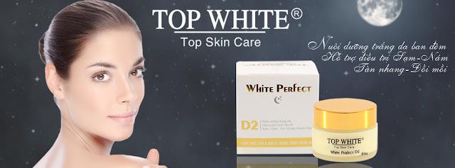 White Perfect D2 kem dưỡng trắng da ban đêm