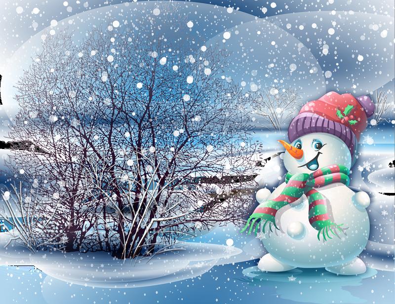 images pour blogs et facebook  fond d u0026 39  u00e9cran bonhomme de neige