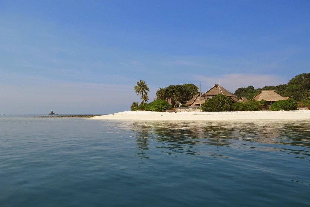 Travel Beach of Bintan Island Riau