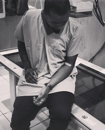 ice prince sick admitted hospital