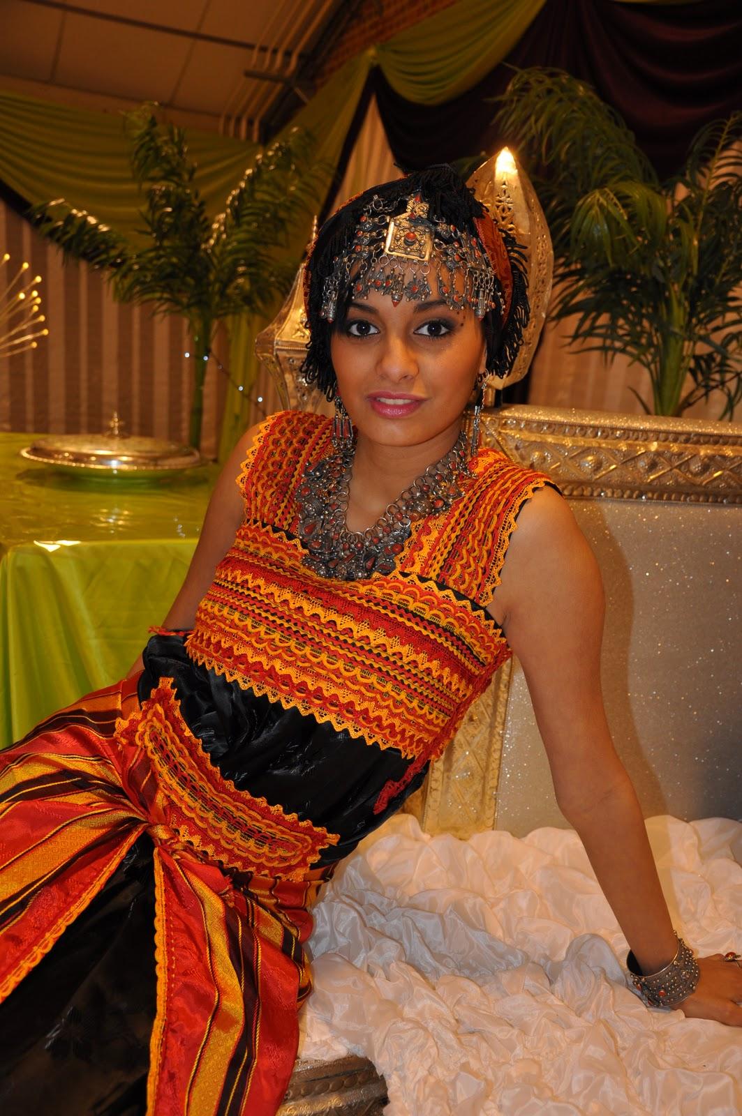 etc.: Nos robes traditionnelles kabyles et berbères/ chaoui