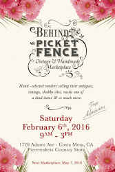 "Our next ""Vintage & Handmade Marketplace"" is February 6th"