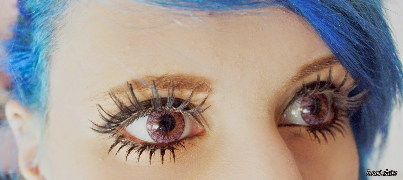 Create Bling Eyes: Wear Dolly Eye Crayon Violet