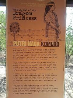 Leyenda Komodo