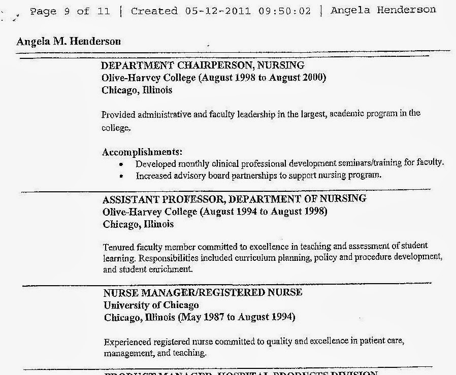 csu faculty voice heres another way to falsify a resume - Sample Resume Phd Candidate