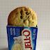 Biscuits brisures de chocolat & pouding à la vanille