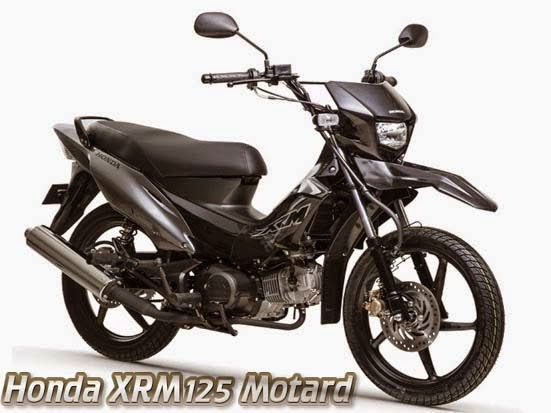 Honda XRM125 Motard Black