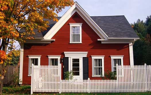 Thoughts from a country wife deciding on paint trim - Country home exterior color schemes ...