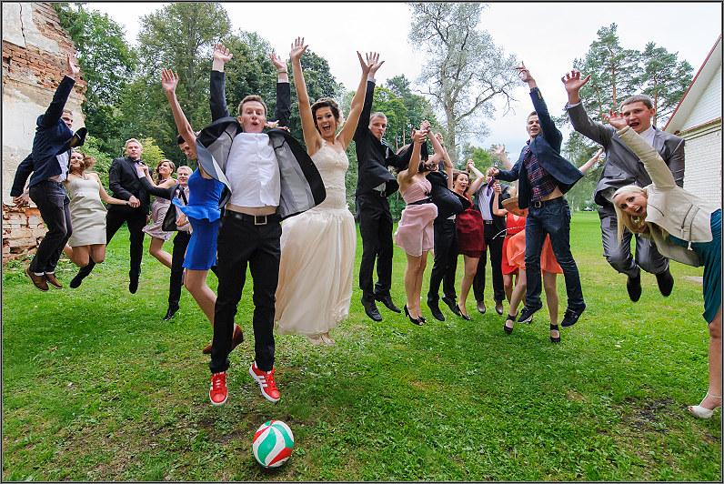 futbolas per vestuves