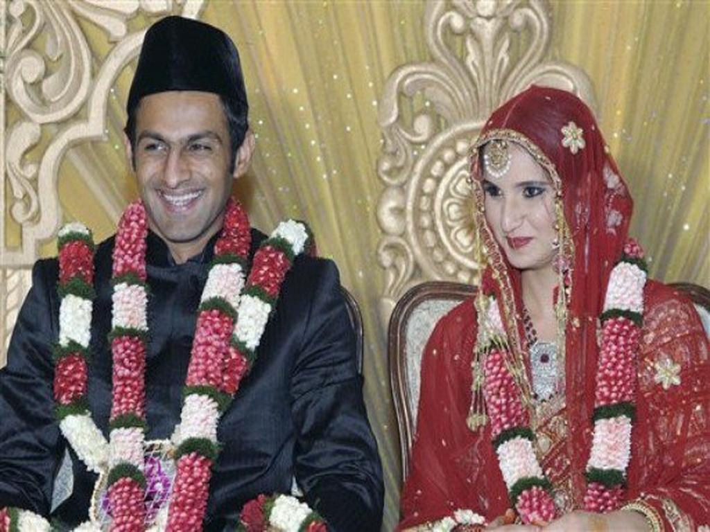 Sania Mirza And Shoaib Malik Wedding