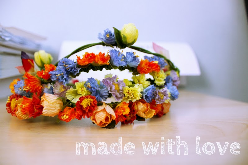 DIY, flower crowns, singapore, blogger, customise, order