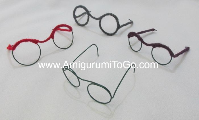 Glasses For Amigurumi : Little Bigfoot Piggy 2014 With Video ~ Amigurumi To Go