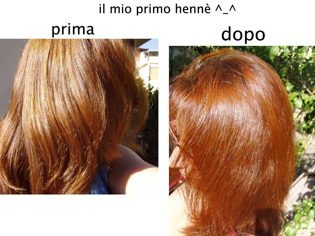 Capelli lunghi henne