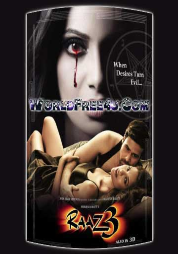 Poster Of Bollywood Movie Raaz 3 (2012) 300MB Compressed Small Size Pc Movie Free Download worldfree4u.com