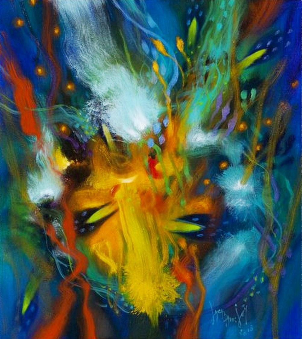 Cuadros pinturas oleos bonitos cuadros abstractos para sala for Cuadros bonitos y modernos