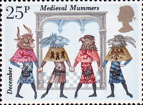 the spectral dimension: demons of disorder: medieval mummers