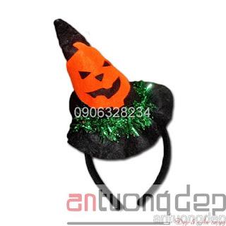 bán cài bờm băng đô halloween