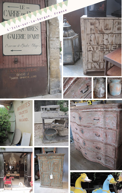 Antiques In France, Ceramics and Furniture