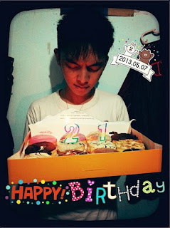 My Special Day :: 21 years old - ulang tahun bryant pelleng - catatan bryant