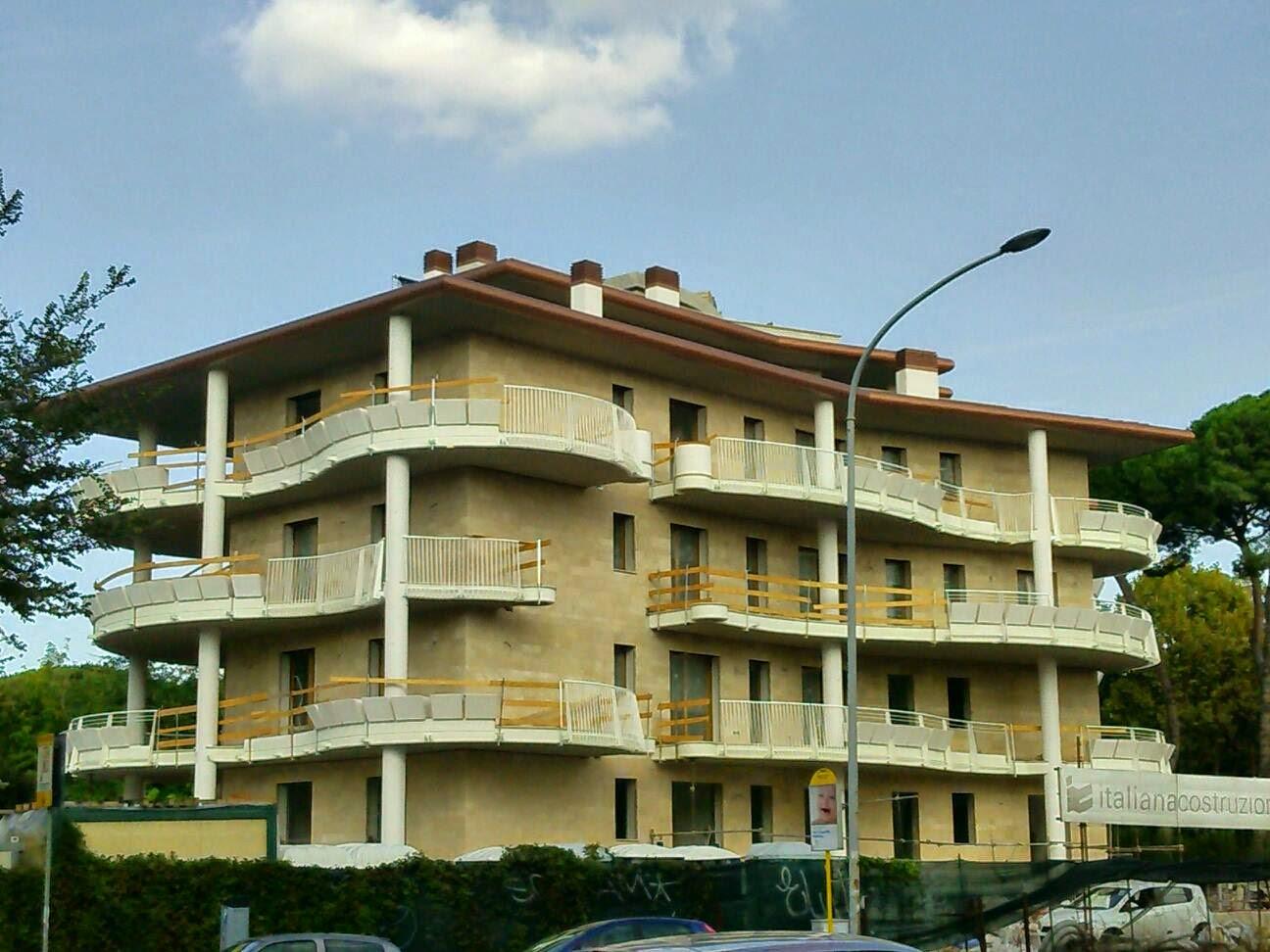Urbanfile roma complesso residenziale di via marco polo for Palazzine moderne
