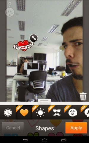 Aplikasi Edit Foto Android Cymera