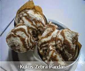 Resep dan Cara Membuat Bolu Kukus Zebra Pandan