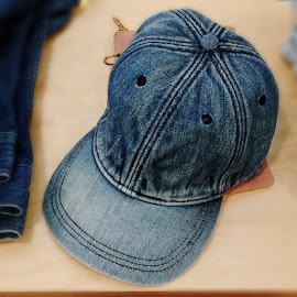 Madewell Denim cap.