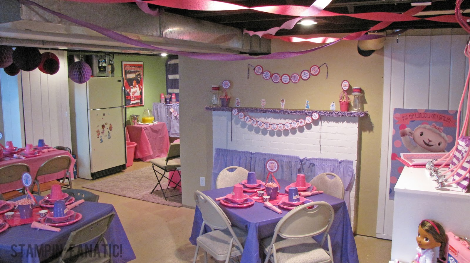 Decorating Ideas > A Stampin Fanatics Life {The Doc Is IN!} A Doc McStuffins  ~ 131212_Basement Party Decorating Ideas
