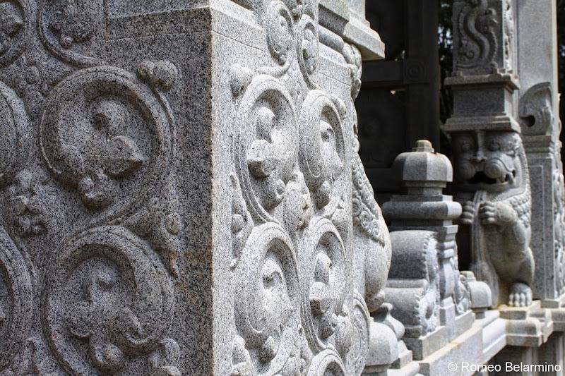 Kauai's Hindu Monastery Carvings Hawaii