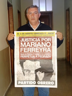 OMAR ROJAS, SECRETARIO GENERAL DE LA AJB AZUL TAMBIÉN QUIERE JUSTICIA POR MARIANO