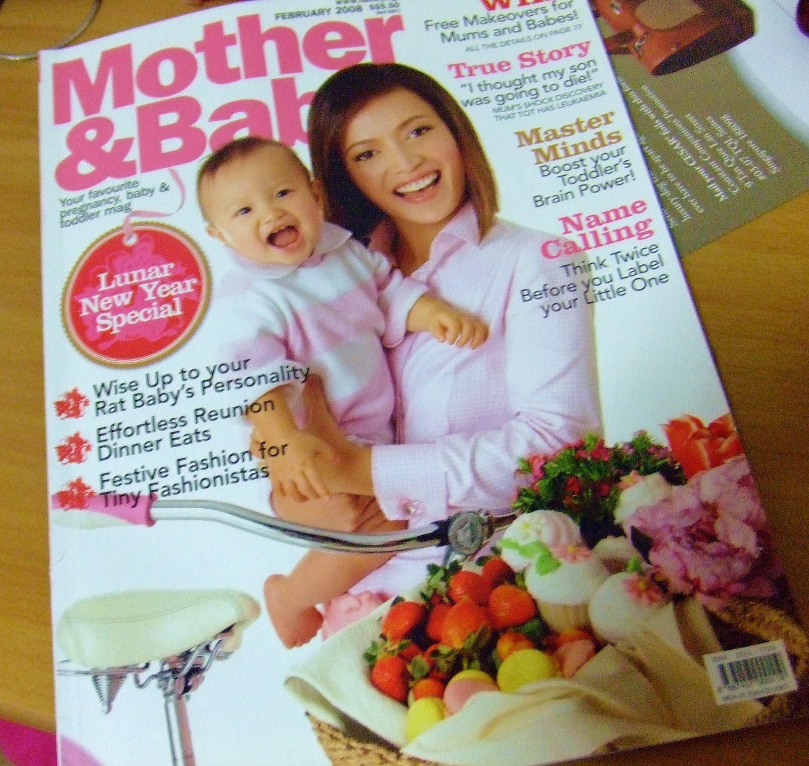 Mother and Baby magazine # October 2017 (BRAND NEW/SEALED)
