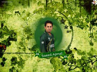 wallpaper Saeed Ajmal