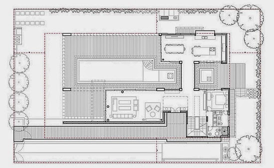 Villa c inspirada en feng shui gal marom architects arquitectura contemporanea - Planos casas de lujo ...
