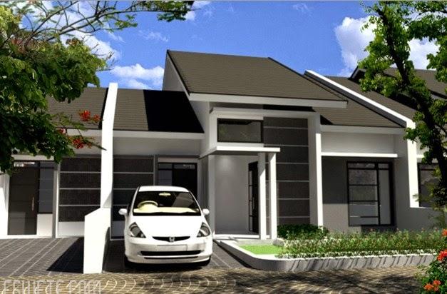 denah model rumah minimalis type 70 terbaru 2016 gambar