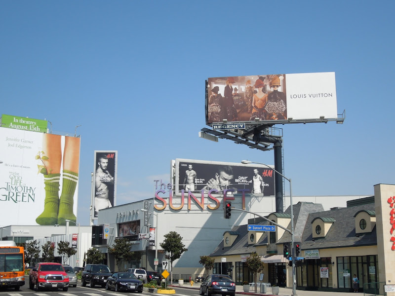 Beckham Bodywear billboards