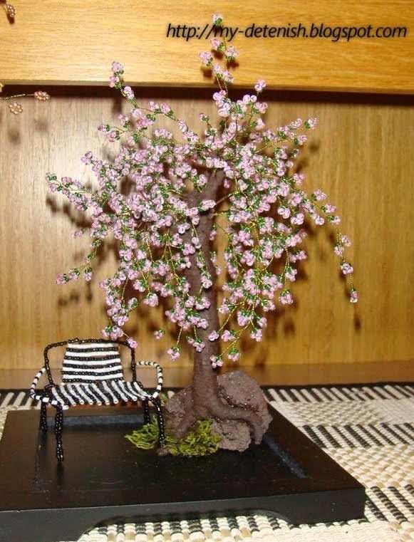Мастер класс по цветочным деревьям