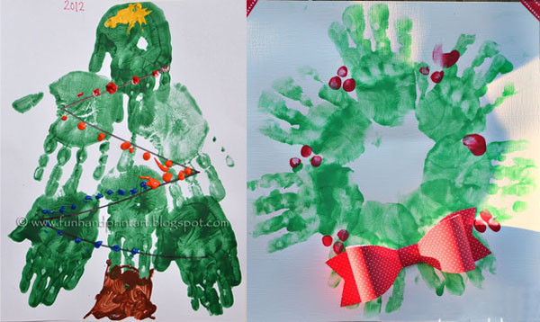 20 easy christmas crafts for toddlers totschooling for Christmas crafts for pre schoolers