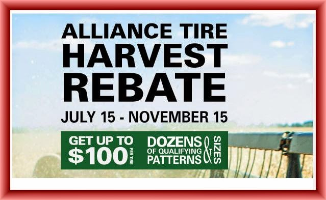 Alliance Tire Rebates