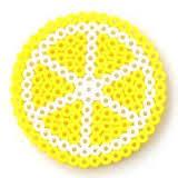 How to Make Perler Bead Lemon Coasters