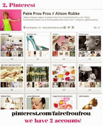 Find Faire Frou Frou on Pinterest #fairefroufrou