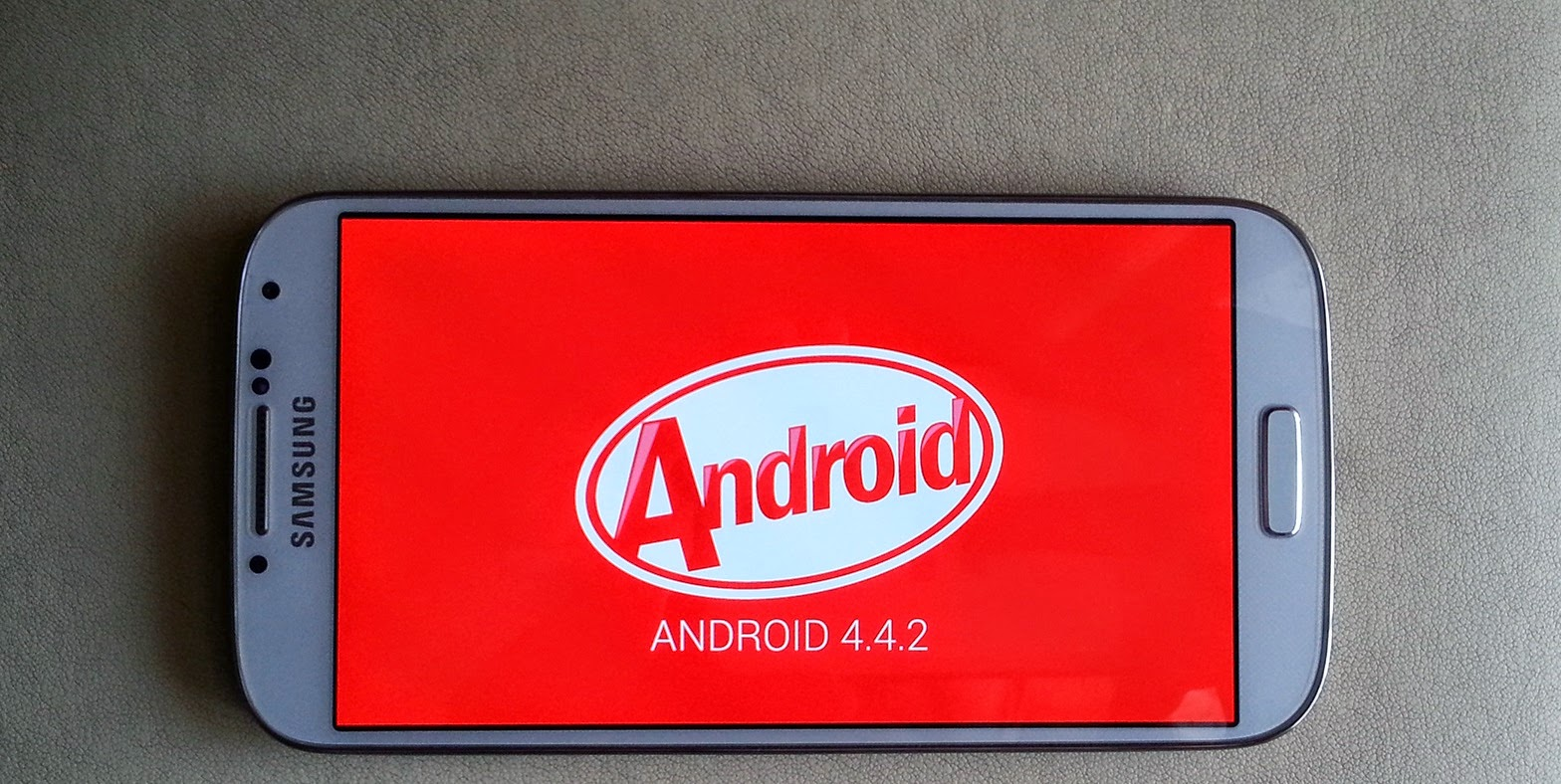 Samsung Galaxy S5 Android 4.4.2 KitKat