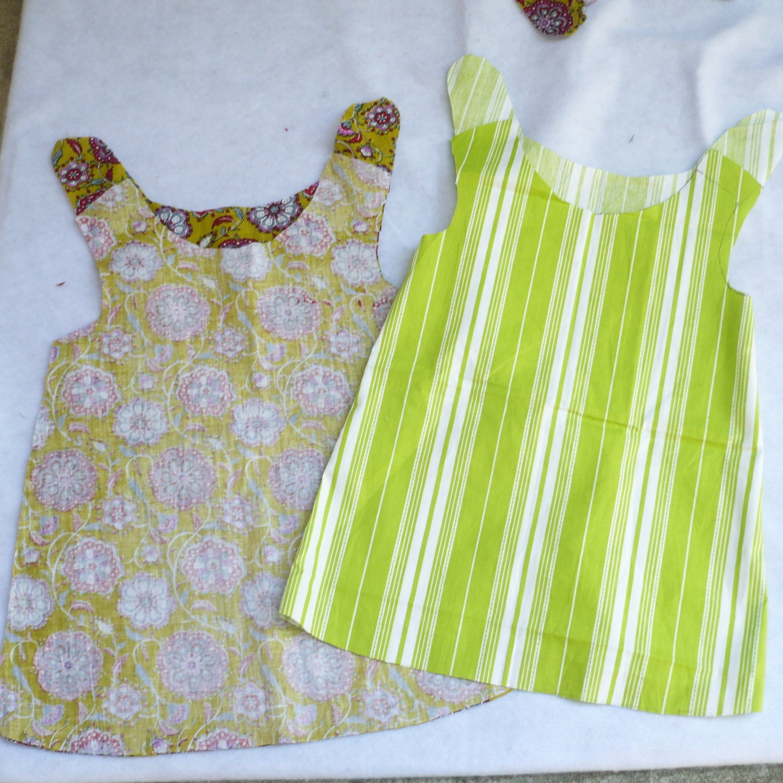 Сшить платье для девочки до года