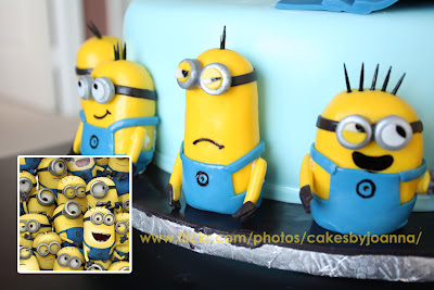 despicable me minions wedding cake