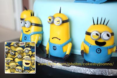 despicable me minions wedding cake