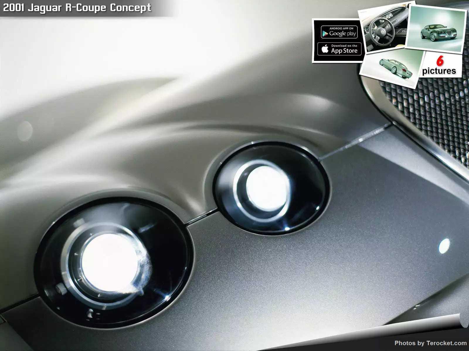 Hình ảnh xe ô tô Jaguar R-Coupe Concept 2001 & nội ngoại thất