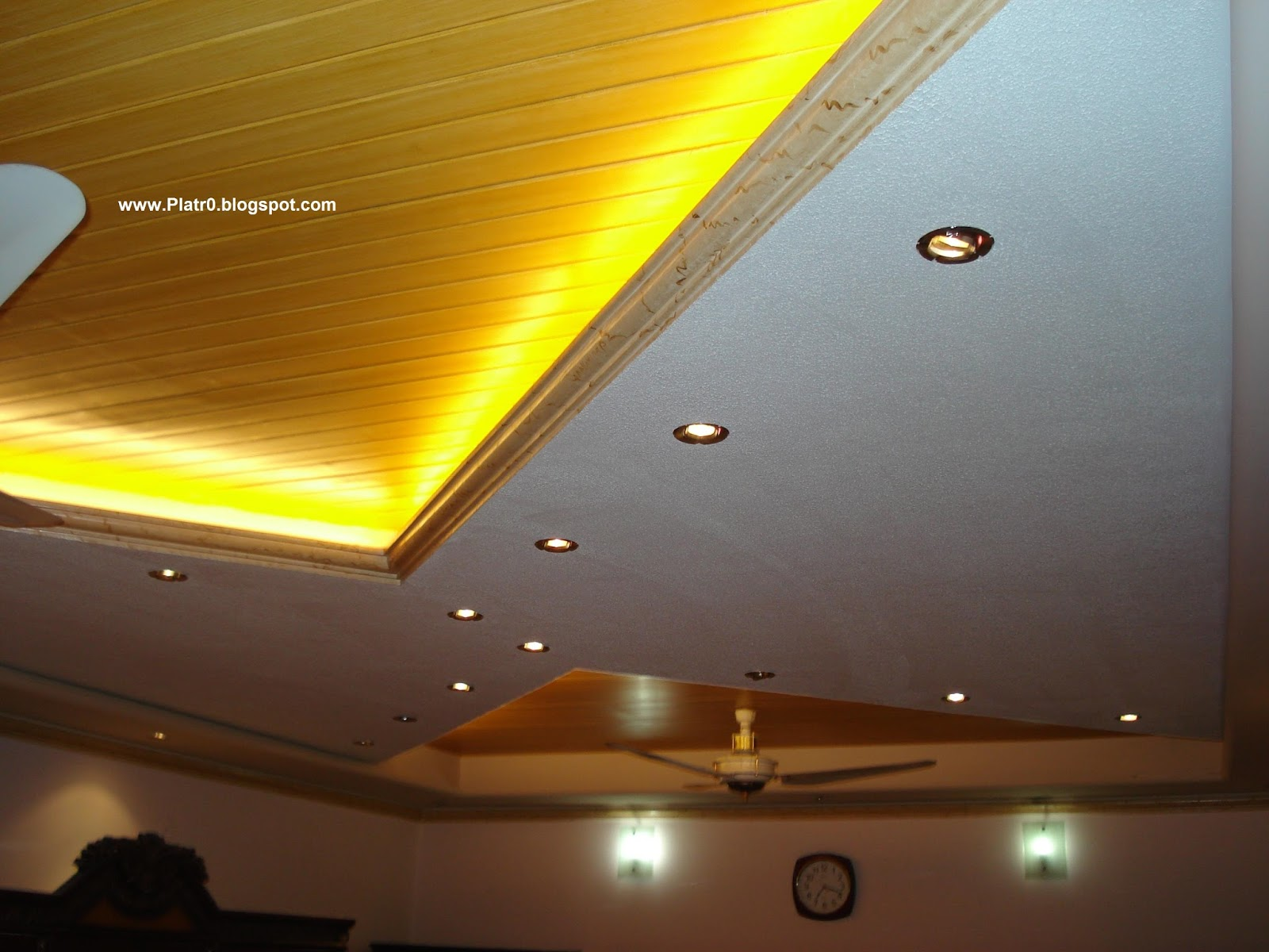 Mode ceiling lights led 2016 d coration platre maroc for Dicor platre 2016