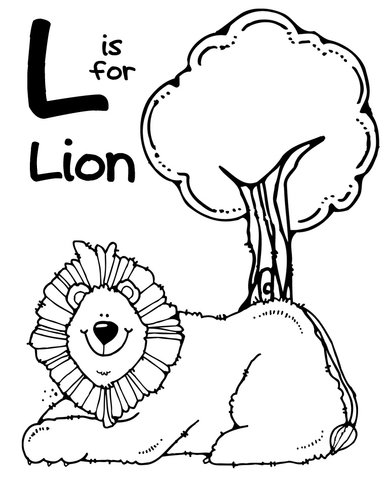 We Love Being Moms Letter L Lion