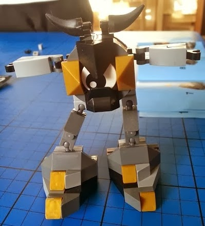 Lego Model 41504 Seismo Mixels Figure